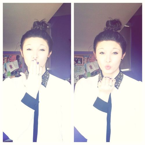 I Just Blew You A Kiss(;