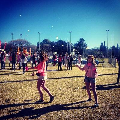 Pinkiefest Dancingaround Markspark Dagdronk happybirthday