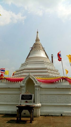 Architecture Belief Built Structure Cloud - Sky Day Flag Low Angle View No People Outdoors Place Of Worship Religion Sky Spire  Spirituality Travel Destinations