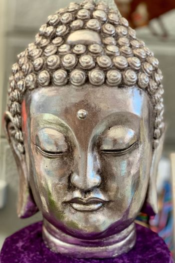 Close-up Focus On Foreground Statue Human Representation Representation Sculpture Religion