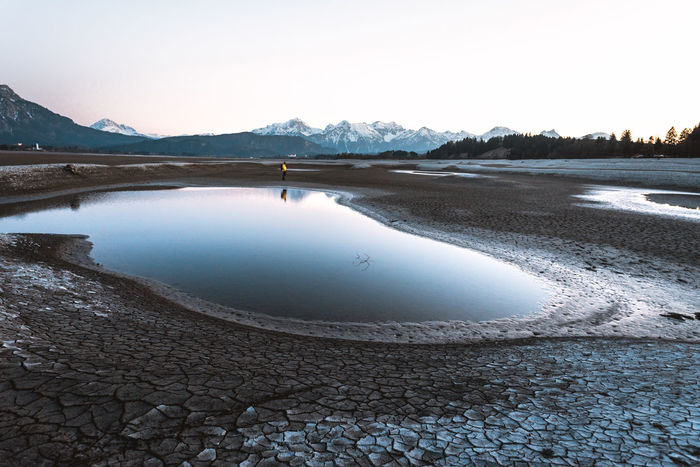 The most surreal Landscape I've ever seen. Moon on Earth Blue Hour Moon Beach Beauty In Nature Clear Sky Dried Out Dry Idyllic Lake Land Mountain Mountain Range Nature No People Non-urban Scene Outdoors Salt Flat Scenics - Nature Sky Sundown Surreal Surrealism Tranquil Scene Tranquility Water