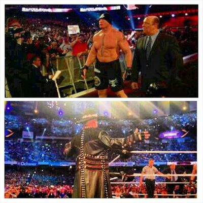 The Streak has Ended. The Phenom now is 21-1 at Wrestlemania . R.I.P. to the streak.