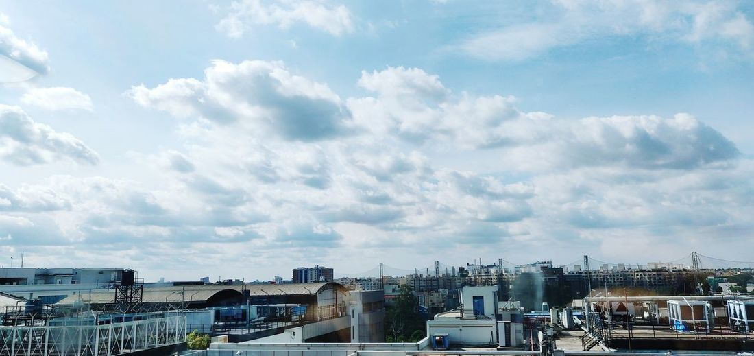 19:9 #clouds City Cityscape Urban Skyline Sky Architecture Building Exterior Cloud - Sky