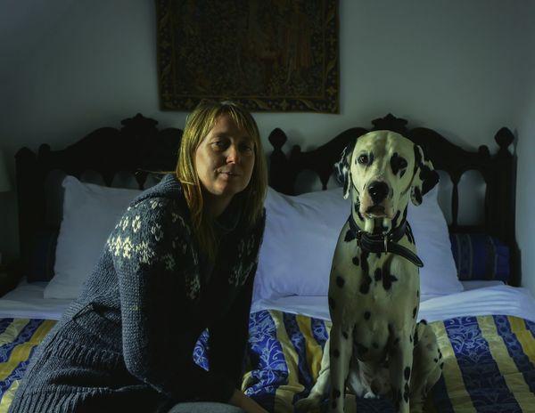 Relaxing Dog Love Dog Dalmatian Dog Life Faces Of EyeEm Beautiful Girl People Photography