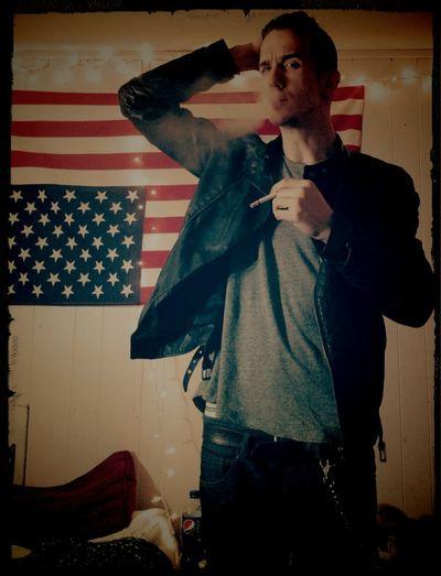 its ELECTRIFYING!! Grease Greaser Badboy Smoke Light Model Mensfashion Style Lifestyles