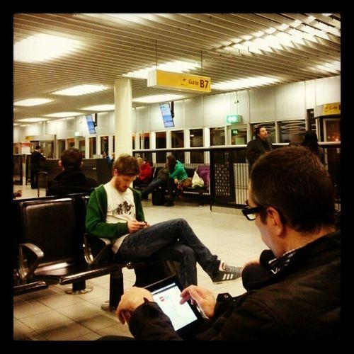 Op naar München!! O wacht....toch nog niet....vertraging! Cursus BrainLAB Alshetlangduurtwachtenwenogeven