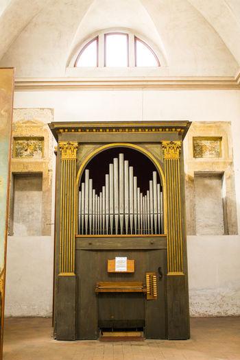 Historic organ in church