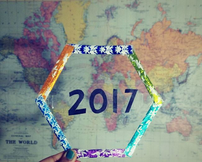 Every Picture Tells A Story Art And Craft Jugad New Year 2017 Maps. Perspective