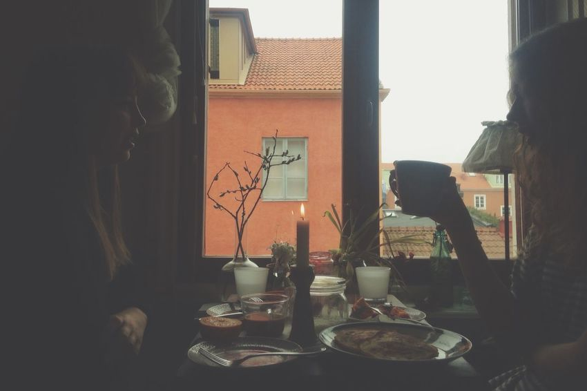 Våra sinnen Coffee Morning Home Breakfast Tea Time Enjoying Life Weekend The Human Condition Friends