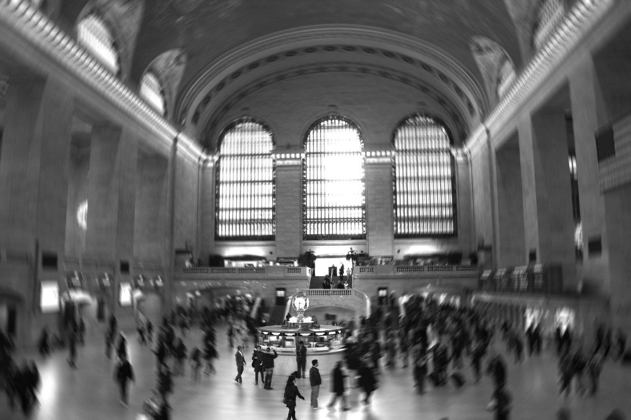 Interiors Of Grand Central Terminal