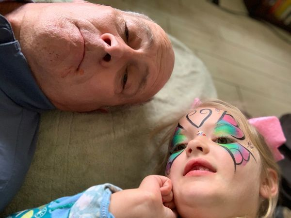 Selfie with my grandaughter Audrey EyeEm Selects Lying Down Relaxation Adult Eyes Closed  Two People Human Face People