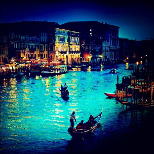 Venezia Gondoliers Themostbeautiful Lovely