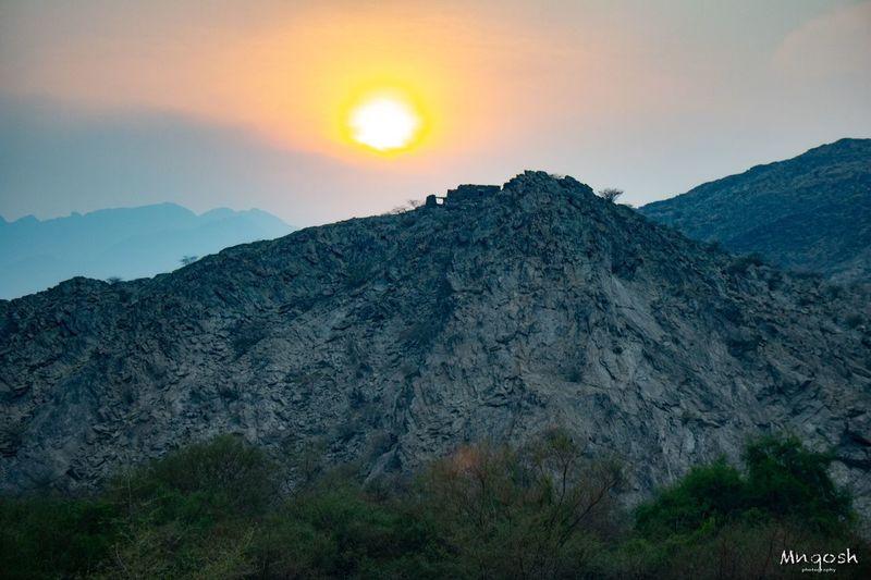 Sunset Beauty In Nature Sky Mountain Scenics - Nature Tranquil Scene Tranquility Mountain Range