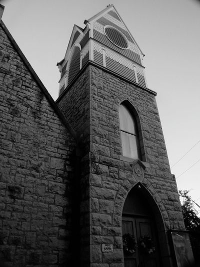 Church Black & White Geometric Shapes Eureka Springs Old Building  Built In 1886 Architecture Churches Arkansas Canonphotography Something Different Check This Out Getting Inspired Getting Creative Cool Old School B&w Photography Perspective B&w