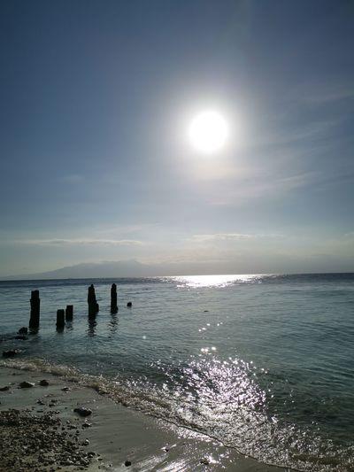 Water Sea Beach Sand Horizon Sun Summer Sunlight Sky Horizon Over Water Seascape Tide Coastline Ocean Coast Shore Groyne Wave Rocky Coastline Coastal Feature Marram Grass Rushing Surf Beach Volleyball Water Sport Calm Low Tide Windsurfing