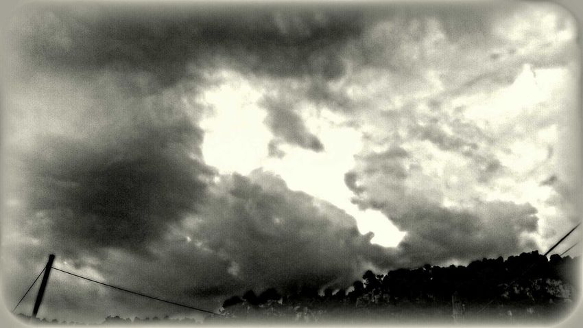 Storm Begins Blackandwhite Storm Clouds And Sky Eye4photography