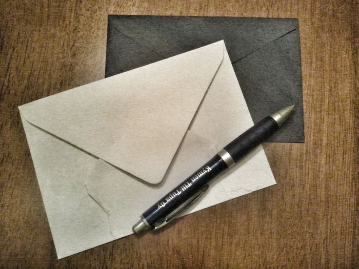 Letters and a Pencil - way of Communicating  as it used to be. My Smartphone Life .