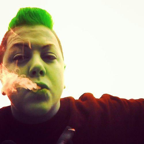Smoking Joker .blunt A Day Keeps The Doctor Away