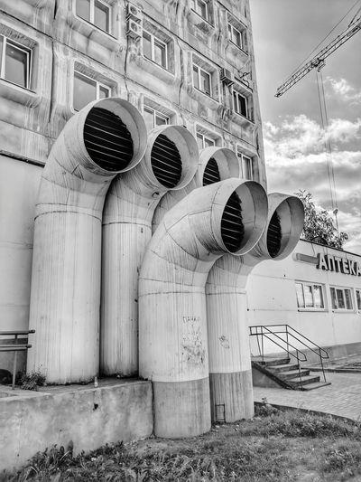 Ventilation Pipes Architecture Built Structure Building Exterior