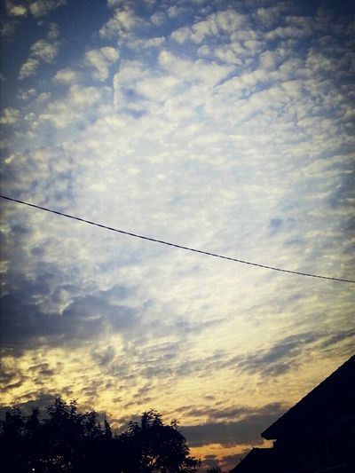 good morning from bali ♥ Nature Sunrise Enjoying Life Clouds And Sky