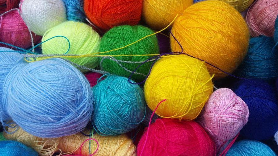Full Frame Shot Of Wools