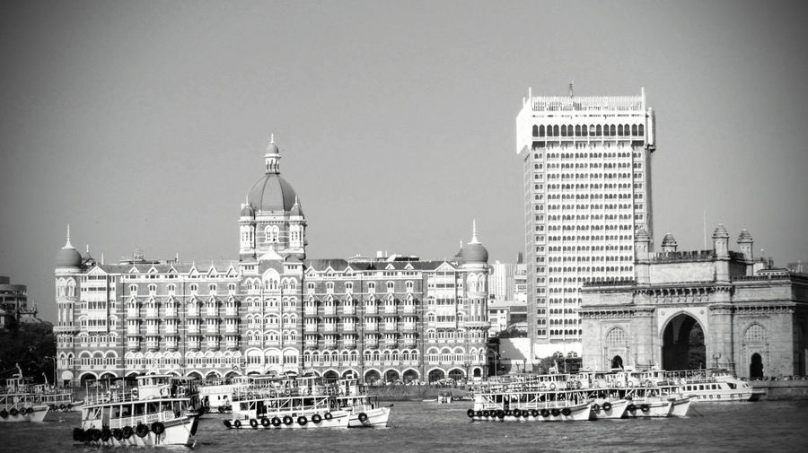 Buildings at waterfront