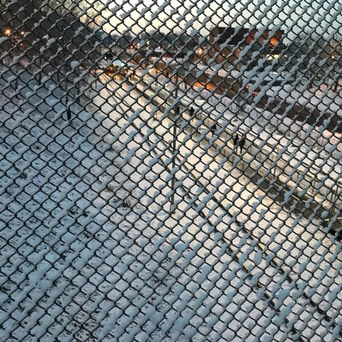 Winter in hjällbo EyeEm Gallery Outdoors No People Protection Day Safety Chainlink Fence Hjällbo Gothenburg Gothenburg_photographer_ The Week On EyeEm Winter