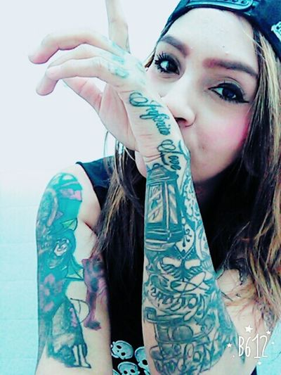 Tattoogirl Tattoomodels Beautiful Girl Tattoo Girl Artist Tattoobeautifull Tattoodesing PiERCiNGS & TATTOOS Beautiful ♥