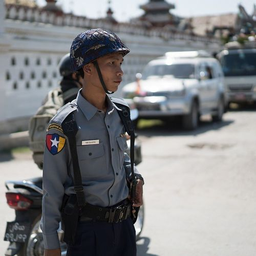 Burmese Policeman Cop Police Policeman Burma Badge Me Inlelake Handsome Picoftheday Photooftheday Instagood Trafficcop Intersection Crossroad Follow Followme Swag Copcar Cool Igers