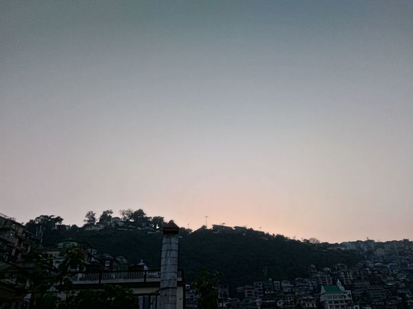 Sky Pink Blue Sky Sunset Nature