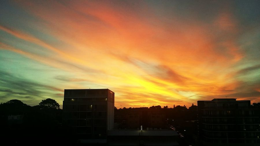 Hues and blues Sunset EyeEm Best Shots