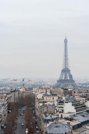 France Paris Tour Eiffel Architecture Building Building Exterior Built Structure City Cityscape Landscape Outdoors Sky Tall - High Tourism Tower Travel Destinations