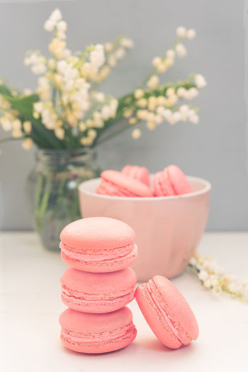 Macarons in a