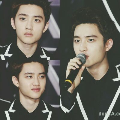 | 140525 | EXO from Exoplanet 1 - The Lost Planet in Seoul press conference . More close . Newsen,dongA || Kyungsoo Dokyungsoo 都暻秀 嘟嘟 도경수 디오 exok exo exom exotic 엑소 xenpais EXOsmine smpackofwolves exodaebakkk kyungsooish ||