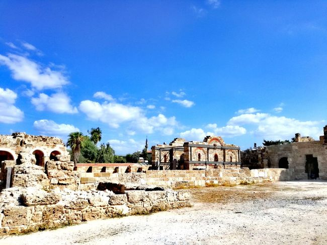 Architecture Built Structure Cloud - Sky Sky History Building Exterior Outdoors No People Day Sunlight Tree Nature Turkish Riviera Side Turkey Archeological Area Archeological Treasure