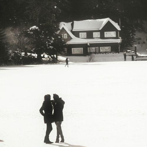 Soguk Kar Sevgililer Günü 14şubat Ev House