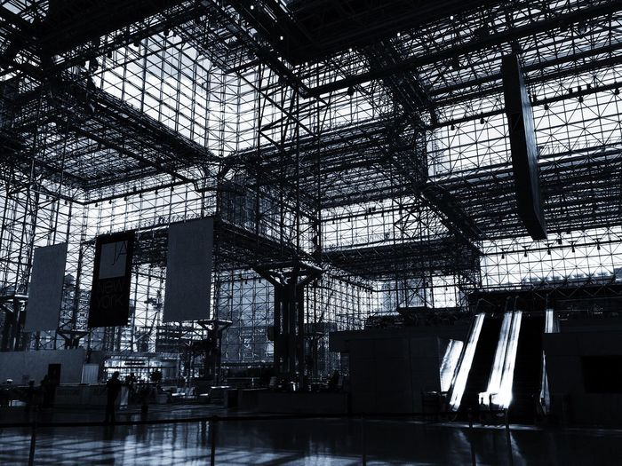 Interior Of Jacob K Javits Convention Center
