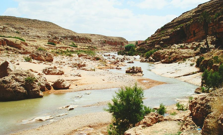 Gafait Valley Nature Rocks Great Morocco Oujda Water