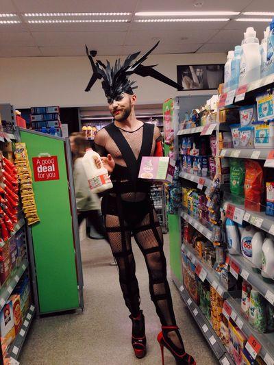 Londonpride Drag Queen Got Milk?  Cat Food
