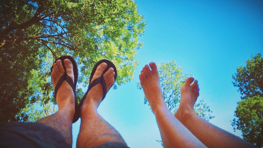 It's summer! So throw your feet up in the air!! Hanging Out Enjoying Life A Beautiful Day Swinging