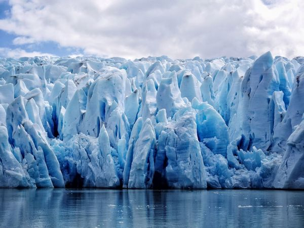 Ice Nature Glacier Sea Melting Environment Landscape Global Warming Water Sky Glacial No People