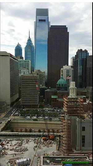 Philadelphia Downtown Cityscape america USA Philly Stpeterandpaulbasilica Galaxys6edge Samsungphotography Architecture S6edge Galaxy Dowtown Union Rise Picturing Individuality Showcase: November Perfect Match Cityofbrotherlylove Grind BestofEyeEmRoof mycity Eyeembest Seeing The Sites