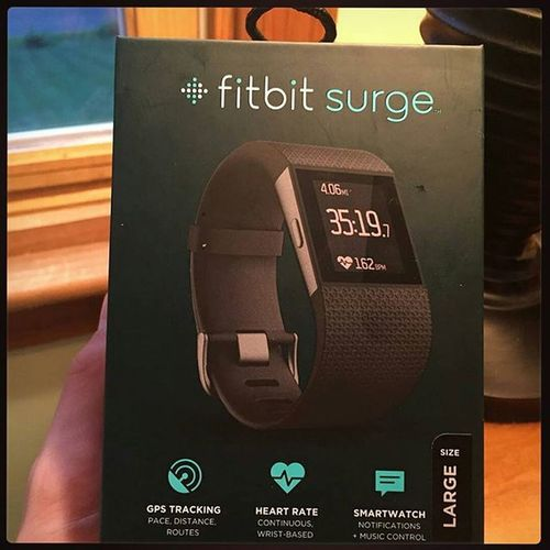 ЧасыМоейМечты СмартВотч СмартВарежки Smartwatch MyDream FitBitSurge ********************************* @Regrann from @adamrrice - This made me happy!!!!!! Fitbit surge cantwaittouse ireccomend Regrann