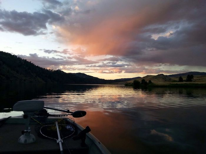 Peace And Tranquility The Days End EyeEm Nature Lover Individuality Unedited Photo The Great Outdoors - 2016 EyeEm Awards Fine Art Photography Light And Shadow Western Sunsets Of Montana Picturesque Painted Sky Holter Lake MT. People And Places. Enjoy The New Normal The Week On EyeEm