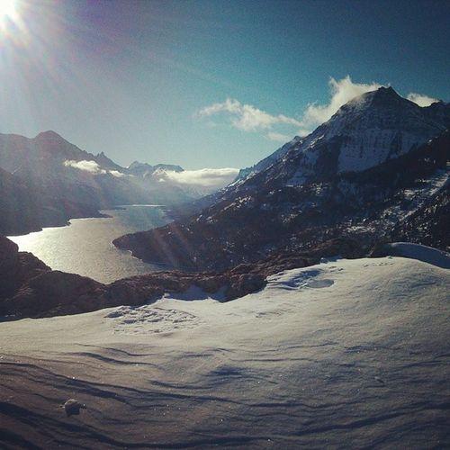 My kind of Saturday mornings. Waterton Explore Explorecanada Winter Snowshoeing Snow Alberta Ab Explorealberta Yql Uleth Pictureoftheday Picoftheday Instanature Instagood Mountains Rockies Rockymountains