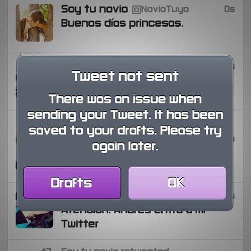 Me acaba de pasar lo que todo tuitero odio: ME FUI OT ? @alexisfigue jaja Overtweet Twitter Sufro