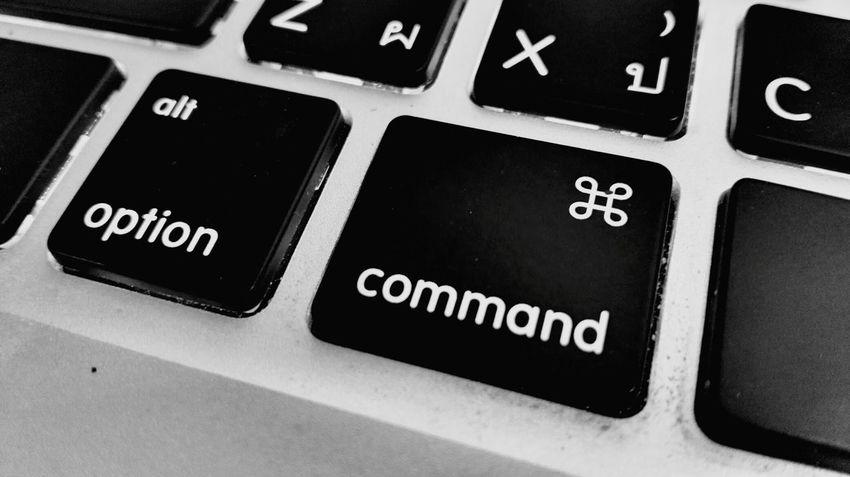 iCommand Macbookproretina Keyboards Letters Typography Photography