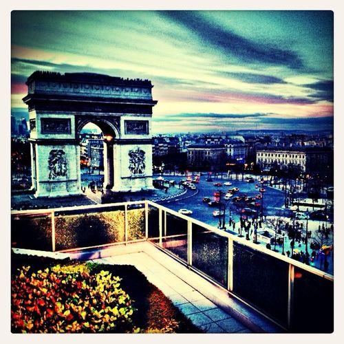 Paris Arc De Triomphe Champs-Élysées
