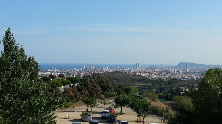 Barcelona vista desde can ruti