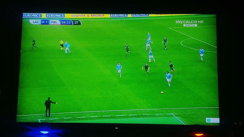 Watching Tv Television Calcio SsLazio